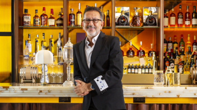 """""""We haven't sold this much high-end wine in a long, long time"""": Restaurateur Charles Khabouth has reopened his night spots and rehired hundreds of people"""