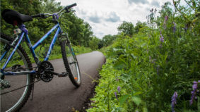 Take care of your mental health this summer by cycling and hiking the Greenbelt