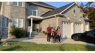 During lockdown, this family felt cramped in their semi. So they upsized to a $1.6-million detached in Mississauga