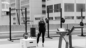 I transformed a parking lot rooftop into a full-service gym