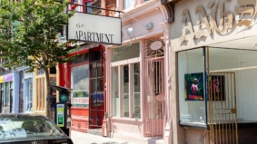 A look inside The Apartment, a millennial-pink vintage shop in Moss Park
