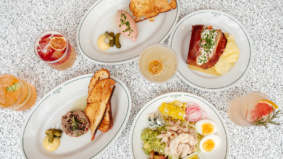 What's on the menu at Stock Bar, midtown's new three-level restaurant from the Terroni and Cumbrae's teams