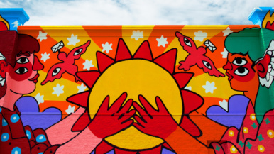 A look at four zany and psychedelic new murals in Vaughan