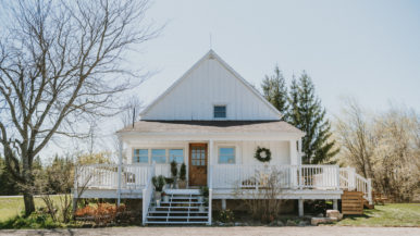 This family bought and renovated a Dufferin County farmhouse during the pandemic