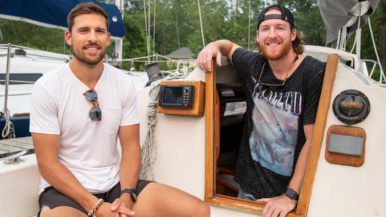 These friends bought a sailboat for $6,500 on a whim. They're loving it
