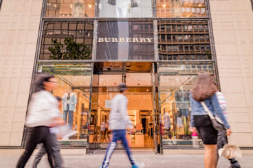 Burberry storefront
