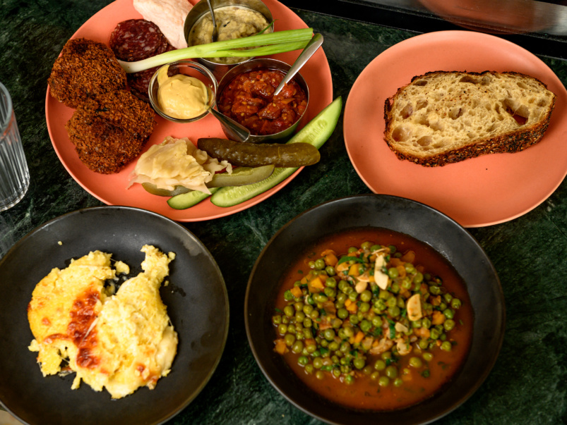 Sort-of Secret: Mamaliga, a monthly pop-up spotlighting home-style Romanian dishes and drinks