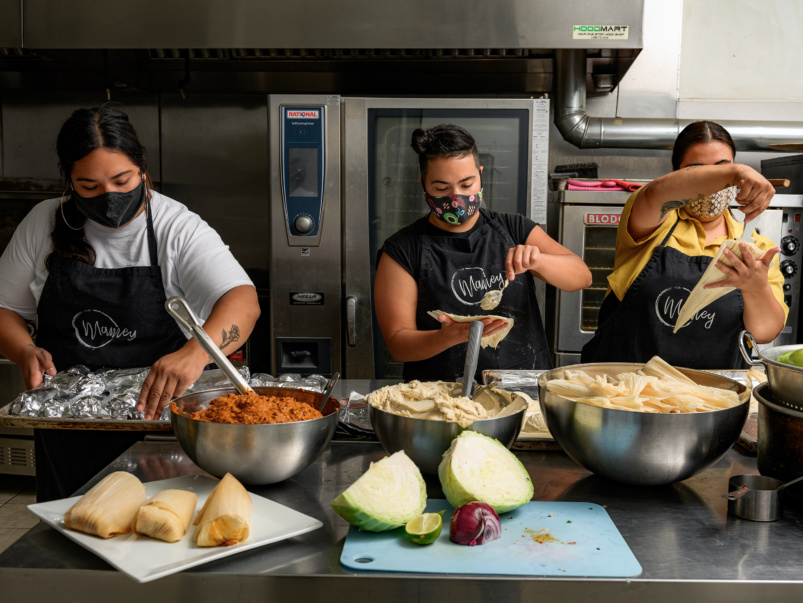 Sort-of Secret: Mamey, a family run pop-up and delivery service specializing in homemade tamales