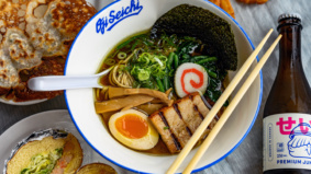 What's on the menu at Oji Seichi, a new ramen shop in East Chinatown from a former Momofuku chef