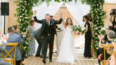 """""""There wasn't a dry eye the whole night"""": This couple finally got married after rescheduling five times"""