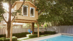 A kid-friendly backyard makeover made this family's lockdown slightly more bearable