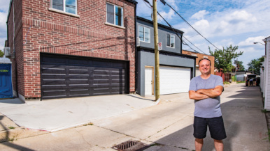 This landlord is renting his two-bedroom laneway suite for $1,661 a month