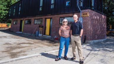 This couple built a $1-million laneway suite