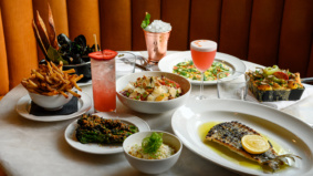 What's on the menu at Pink Sky, a swanky new seafood spot on King West