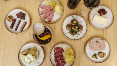 What's on the menu at Loop Line Wine and Food, a sleek new bar and bottle shop from the owners of Stratus Vineyards
