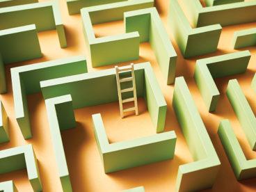 Artwork of maze