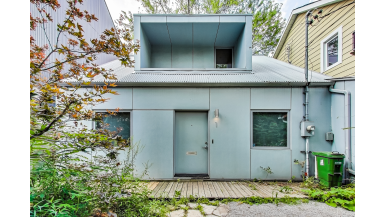 You can buy this place for $1.8 million. (It's in a Kensington Market laneway)