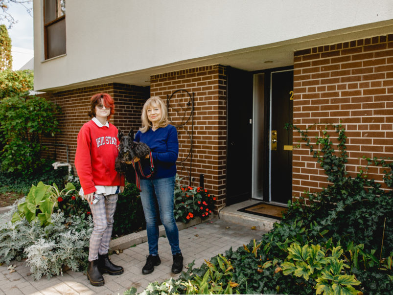 A student and a senior moved in together. Here's what happened
