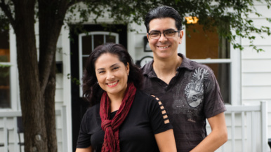 This couple moved to the city, rented for a bit, then found a $1-million starter home in East York
