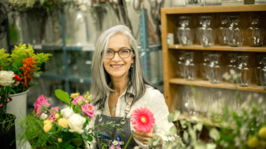 I gave up my career as a TD executive to become a florist