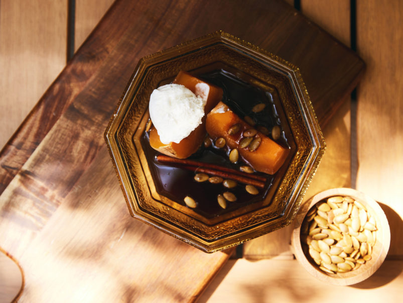 How to make chef Miriam Echeverria's syrup-drizzled candied pumpkin