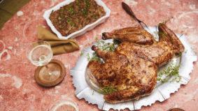 How to make Taverne Bernhardt's chef Zachary Kolomeir's juicy, herb-slathered heritage turkey